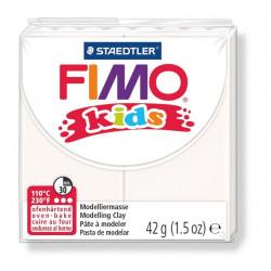 Fimo Kids, weiss, 42g