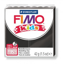 Fimo Kids, schwarz, 42g