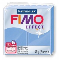 Fimo effect, Edelsteinfarben,  blau-achat