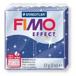 FIMO effect, Glitter blau, 56g