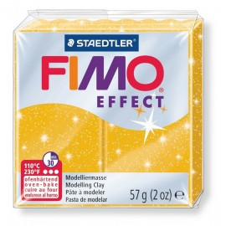 FIMO effect, Glitter gold, 56g