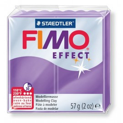 FIMO effect, transparent lila, 56g