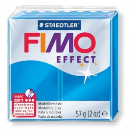 FIMO effect, transparent blau, 56g