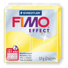 FIMO effect, transparent gelb, 56g