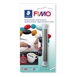 Fimo Perlenstechnadeln, 25x0.8x90mm, 25x1.7x90mm
