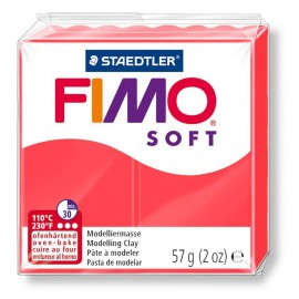 Fimo soft, flamingo, 56g