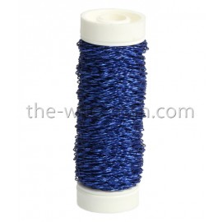 Bouilloneffektdraht, blau, 0.3mm, 35m