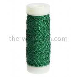 Bouilloneffektdraht, grün, 0.3mm, 35m