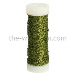Bouilloneffektdraht, olive, 0.3mm, 35m