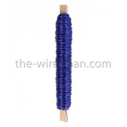 Deco-Lackdraht, blau, 0.5mm, 50m