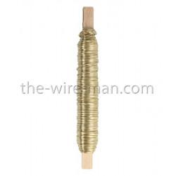 Deco-Lackdraht, gold, 0.5mm, 50m