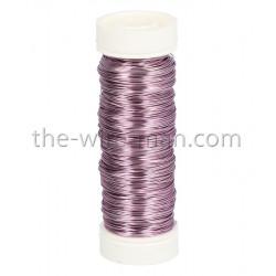 Deco-Lackdraht, lavendel 0.3mm, 50m