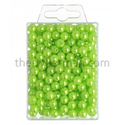 Perlen, 8mm, 250Stk., apfelgrün