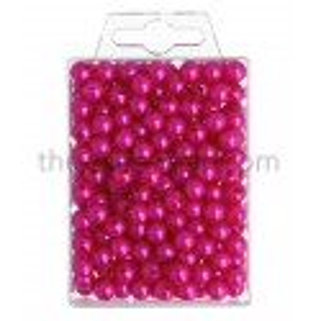 Perlen, 8mm, 250Stk., pink