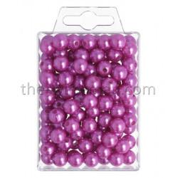 Perlen, 10mm, 115Stk., violett