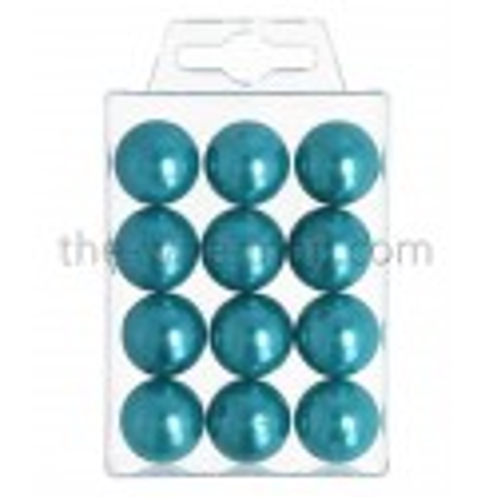 Perlen, 20mm, 12Stk., türkis