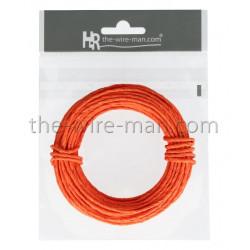 Papierdraht, 2mm/10m, orange
