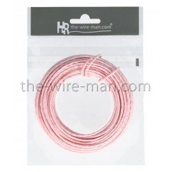 Papierdraht, 2mm/10m, rosa