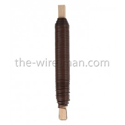 Wickeldraht braun, 0.65mm, 38m