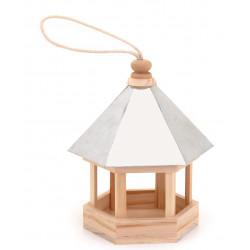Vogelhaus, 190x135x240mm, Holz/Metall