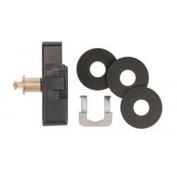 Uhrwerk Quarz, für 9-13mm dicke Zifferblätter