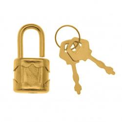 Miniaturschloss mit 2 Schlüsseln, 1Stk.