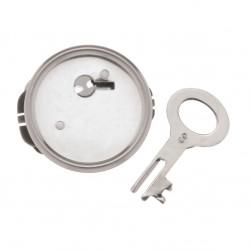 Spardosenschloss mit Schlüssel, Ø 40mm, 1Stk.