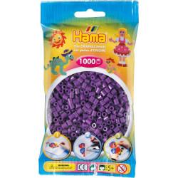 Bügelperlen lila, 1000Stk.