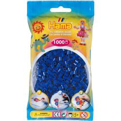 Bügelperlen dunkelblau, 1000Stk.