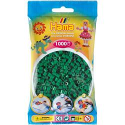 Bügelperlen grün, 1000Stk.