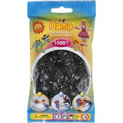 Bügelperlen schwarz, 1000Stk.