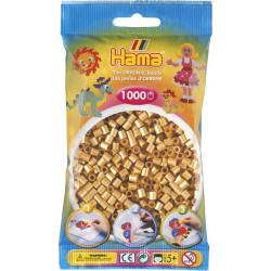 Bügelperlen, gold, 1000Stk.