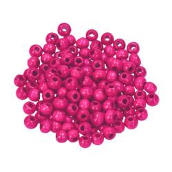 Holzkugel, 4mm, pink
