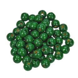 Holzkugel, 6mm, dunkelgrün