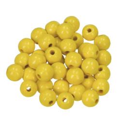Holzkugel, 8mm, gelb