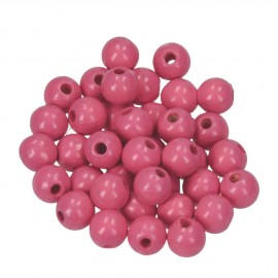Holzkugel, 8mm, rosa