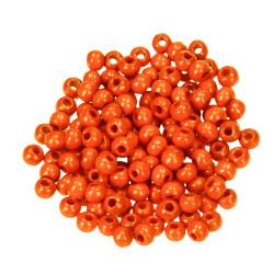 Holzkugel, 10mm, orange
