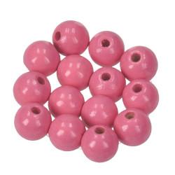 Holzkugel, 10mm, rosa