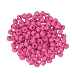 Holzkugel, 12mm, rosa