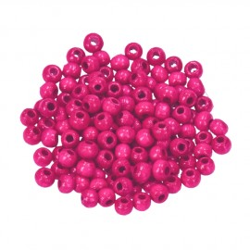 Holzkugel, 12mm, pink