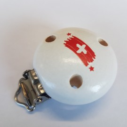 Kettenclip, Flagge Schweiz