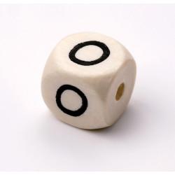 Buchstabenwürfel, Holz, 10mm, O