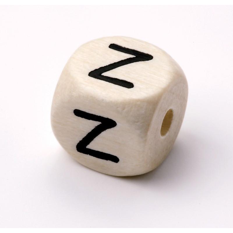 Buchstabenwürfel, Holz, 10mm, Z