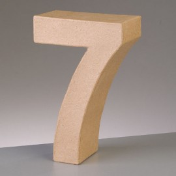 Kartonzahl 7