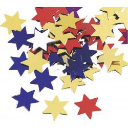 "Aluflitter ""Sterne groß"", 20g"