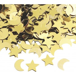 "Aluflitter ""Mond / Sterne"", 20g"