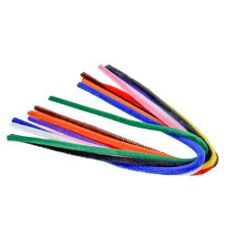 Pfeifenputzer, farbig sortiert