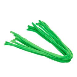 Pfeifenputzer, hellgrün, 8mm x 50cm, 10Stk