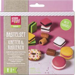 """Kneten & Radieren, Bastel-Set """"Tasty Candies"""""""