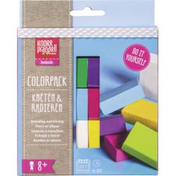 "Kneten & Radieren, Modelliermassen-Set ""Colorpack Fun"""